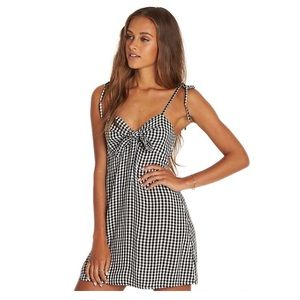 Billabong gingham dress